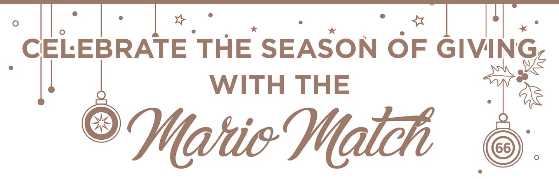 Mario Match Holiday Header